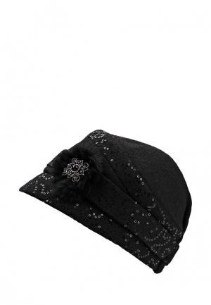 Шляпа Miss sherona. Цвет: черный