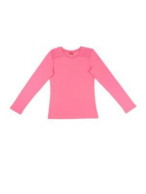 Джемпер для девочки Cherubino. Цвет: розовый
