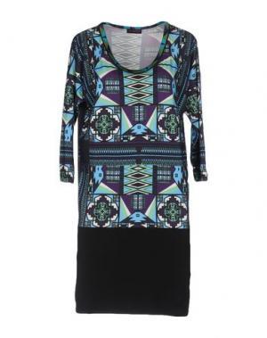 Короткое платье CUSTO BARCELONA. Цвет: лазурный