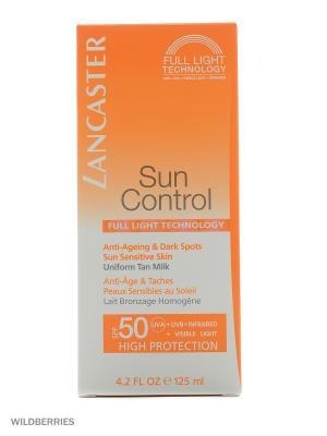 Солнцезащитное молочко для тела Sun Control LANCASTER. Цвет: прозрачный