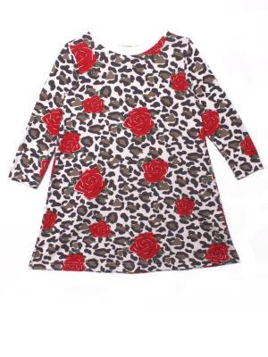 Платье Леопарды КОТМАРКОТ