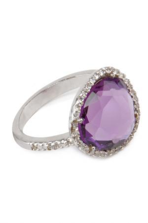 Кольцо Donna Lorena. Цвет: фиолетовый