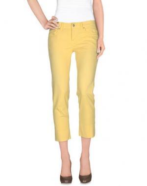 Повседневные брюки NOTIFY. Цвет: желтый