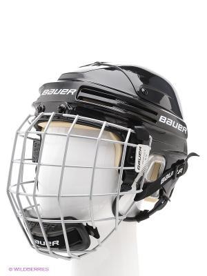 Шлем с маской BAUER 4500 COMBO Взрослый. Цвет: черный