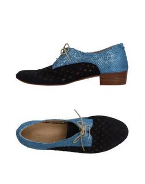 Обувь на шнурках KUDETÀ. Цвет: темно-синий