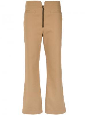Cropped trousers Nk. Цвет: телесный