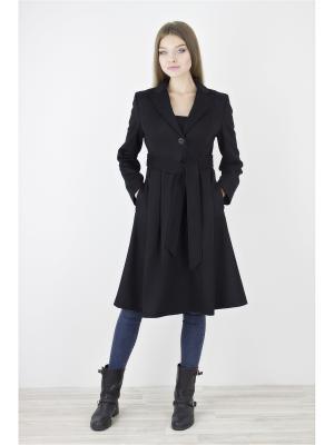 Пальто Elema. Цвет: черный