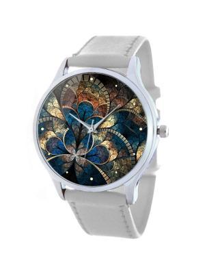 Дизайнерские часы Miracle Tina Bolotina. Цвет: синий, светло-серый, белый