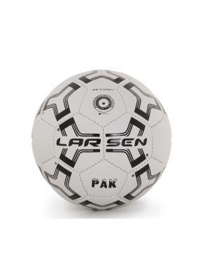 Мяч футбольный  Pak Larsen. Цвет: черный, белый