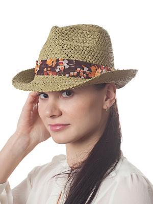 Шляпа Модные истории. Цвет: светло-зеленый
