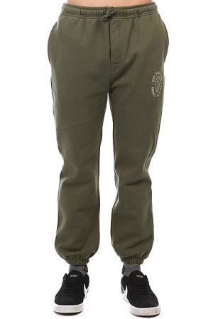 Штаны спортивные  Sweatpant Olive Undefeated. Цвет: зеленый