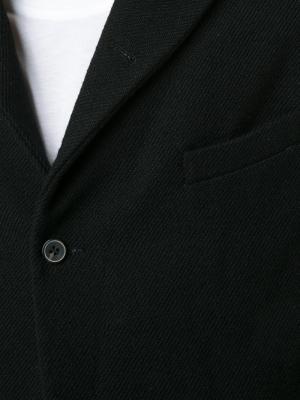 Пиджак с заостренными лацканами A Diciannoveventitre. Цвет: чёрный