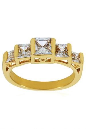 Кольцо R DU TEMPS. Цвет: золотой