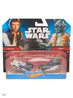Машинки персонажей вселенной Звездные войны (упаковка из 2-х) Hot Wheels. Цвет: серебристый