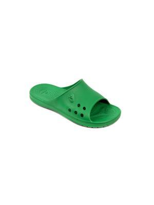 Шлепанцы FROG. Цвет: зеленый