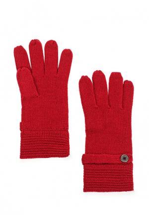 Перчатки Carpisa. Цвет: красный