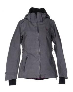 Куртка VÖLKL. Цвет: свинцово-серый