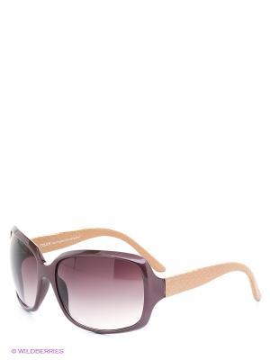 Солнцезащитные очки TOUCH. Цвет: бордовый, бежевый