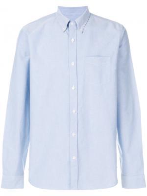 Рубашка с длинными рукавами Closed. Цвет: синий