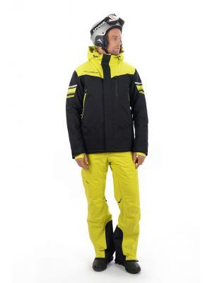 Куртка Stayer. Цвет: черный, салатовый, серебристый