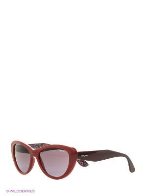 Очки солнцезащитные 0VO2990S-23408H Vogue. Цвет: красный
