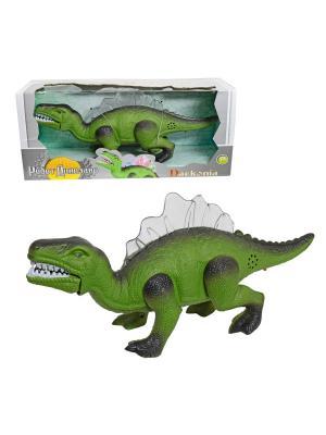 Darkonia эл.робот-динозавр, движение, свет, звуковой эффект 1Toy. Цвет: зеленый