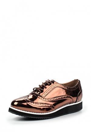 Ботинки Guapissima. Цвет: коричневый