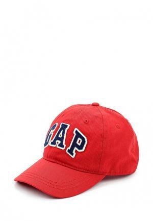 Бейсболка Gap. Цвет: красный