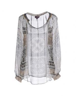Блузка HALE BOB. Цвет: серый