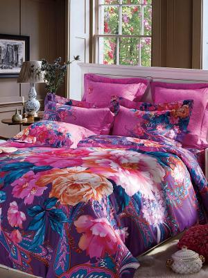 Комплект постельного белья Dream time. Цвет: фуксия, розовый, синий, фиолетовый