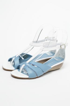 Сандалеты Pegasus. Цвет: голубой