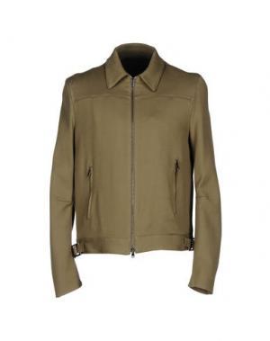 Куртка COSTUME NATIONAL HOMME. Цвет: зеленый-милитари