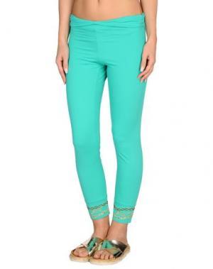 Пляжные брюки и шорты VDP BEACH. Цвет: зеленый