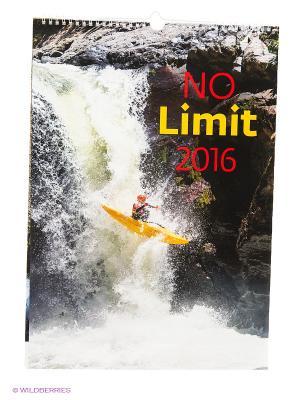 Календарь No Limit (Экстремальный спорт) КОНТЭНТ. Цвет: белый