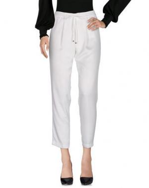 Повседневные брюки DONATELLA DE PAOLI. Цвет: белый