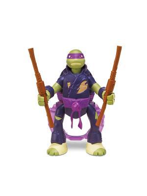 Фигурка Черепашки-ниндзя с секретным приемом, Донателло Playmates toys. Цвет: фиолетовый, зеленый