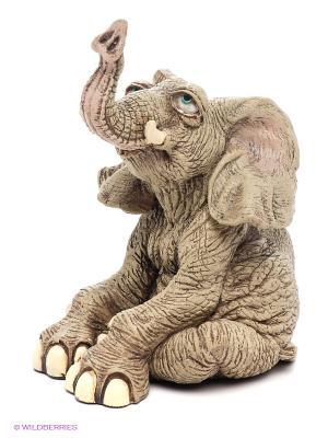 Фигура Слон Sealmark. Цвет: серый