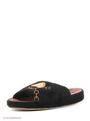 Тапочки Dream Feet. Цвет: черный