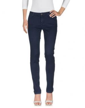 Джинсовые брюки SUPERFINE. Цвет: темно-синий