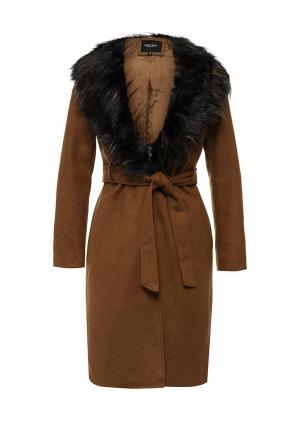 Пальто Brave Soul. Цвет: коричневый