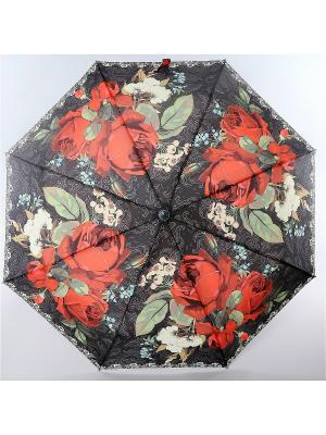 Зонт Magic Rain. Цвет: черный, темно-красный