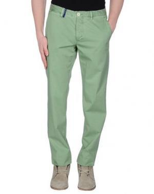 Повседневные брюки G.T.A. MANIFATTURA PANTALONI. Цвет: светло-зеленый
