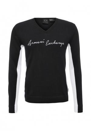 Пуловер Armani Exchange. Цвет: черный