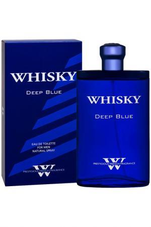 Whisky Premium Deep blue 90 мл PARFUMS EVAFLOR. Цвет: none