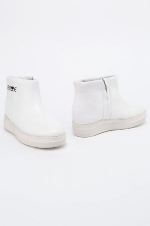 Ботинки ENISSE. Цвет: белый