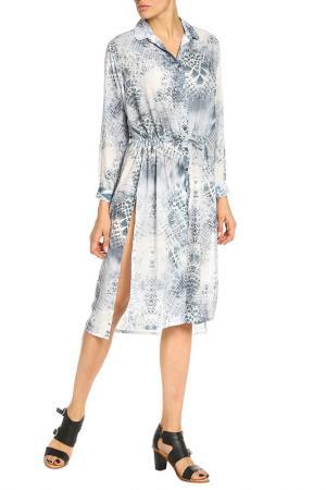 Платье Elvi. Цвет: синий