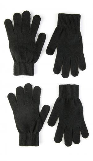 Перчатки, Перчатки ТВОЕ. Цвет: черный