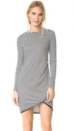 Платье Jackie RUKEN. Цвет: черный/белая полоска