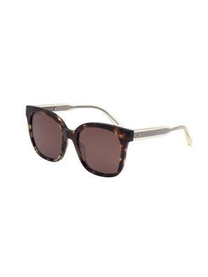 Солнцезащитные очки Bottega Veneta. Цвет: коричневый, серый