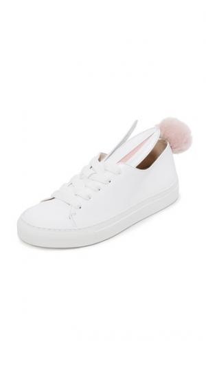 Кроссовки Tail Minna Parikka. Цвет: белый